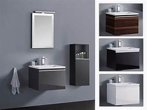 Waschbecken Gaeste Wc : badm bel set g ste wc waschbecken waschtisch spiegel cosma schwarz weiss 60cm ebay ~ Watch28wear.com Haus und Dekorationen