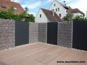 Holz U Profil : zaun und tor referenzen von zaunteam gabionen 79790 k ssaberg zaunteam ~ Frokenaadalensverden.com Haus und Dekorationen