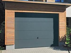 Porte de garage basculante gris ral 7016 pas cher for Porte de garage a enroulement pas cher