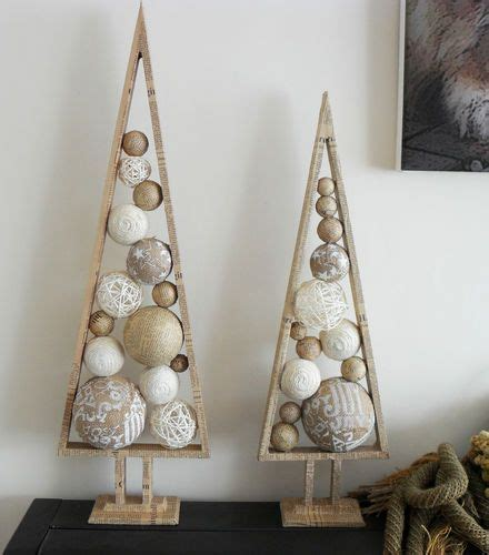 christmas tree decoration newspaper ball cone 2 sizes