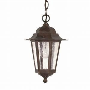 Nuvo, Lighting, Cornerstone, 1, Light, Outdoor, Hanging, Lantern, In, Old, Bronze, L, Brilliant, Source, Lighting