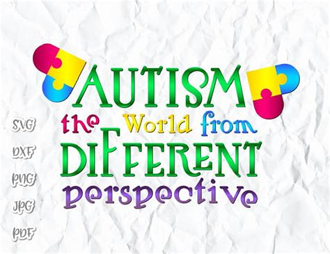 But learning all about the cricut isn't as easy as it should be. Autism Awareness Shirt Tee Quote Saying World from ...