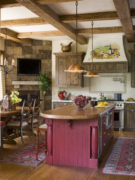 country kitchen island ideas the color hgtv