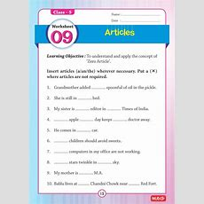 51 English Grammar Worksheets  Class 5 (instant Downloadable) [ep201800013]  Rs25000 Pcmb
