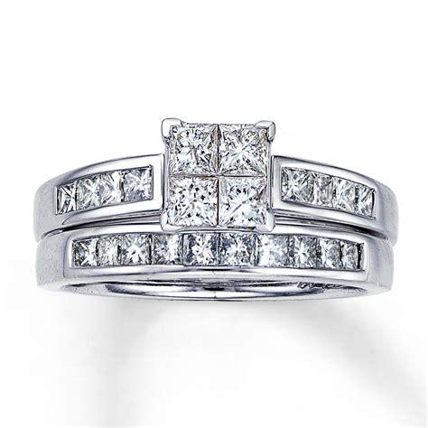 princess cut diamond engagement ring sets diamondstud