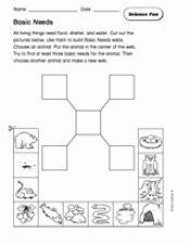 science fun basic needs teachervision