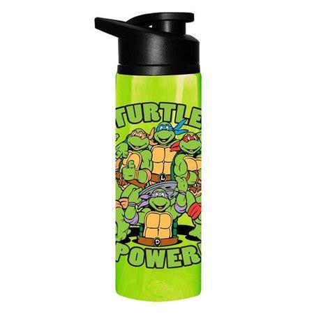 turtle power water bottle teenage mutant ninja turtles stainless steel tmnt walmartcom