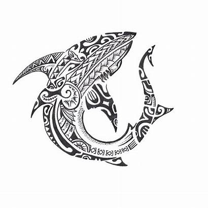 Tattoo Maori Shark Tattoos Polynesian Memuralimilani Tribal