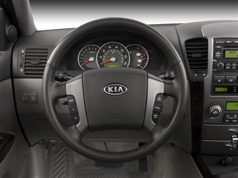 image  kia sorento wd  door  steering wheel size