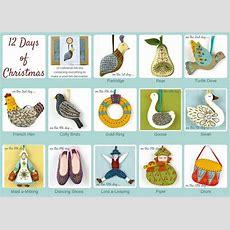 12 Days Of Christmas Full Set By Corinne Lapierre Notonthehighstreetcom
