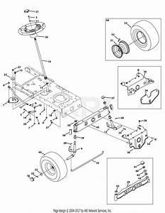 Troy Bilt 13wn77ks211 Pony  2012  Parts Diagram For