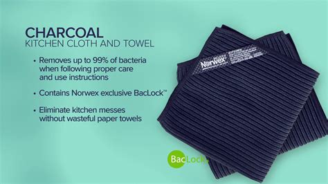 Virtuves audums, melns - Norwex - ekoloģiskie tīrīšanas ...