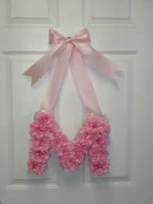 DIY Floral Monogram Wreath