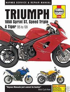 Triumph Sprint St 1050 Haynes Manual 2005on