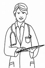 Nurse Coloring Pages Printable sketch template