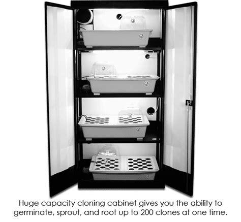 Grow Cabinet - the clone machine grow cabinet supercloset