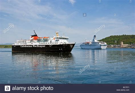 Ferry Oban To Mull by Calmac Car Ferry Isle Of Mull Arrives In Oban Harbour From