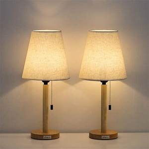 Haitral, Small, Bedside, Table, Lamps, Set, Of, 2