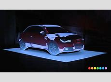 Audi A1 Car projection mapping YouTube