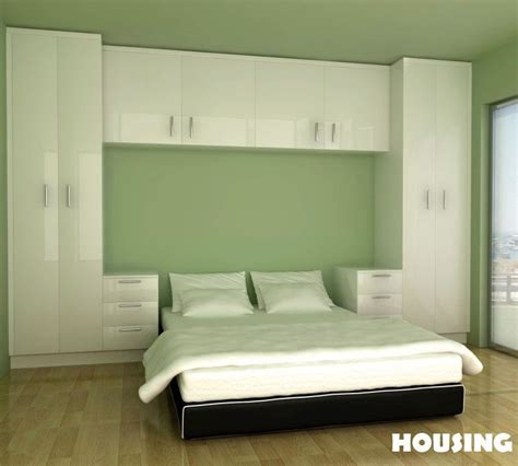 Built In Cabinets Bedroom by Built In Bedroom Wardrobe Cabinets Around Bed