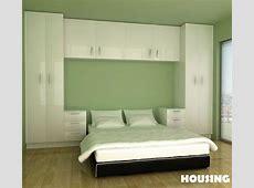 built in bedroom wardrobe cabinets around bed Google