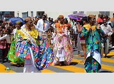 Dominica's National Wear Wob Dwiyet Traditional Creole