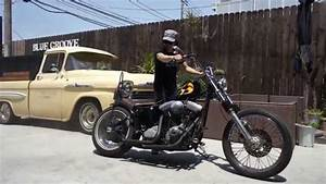 Harley Davidson 1999 Evo Chopper Test Ride Build By Blue