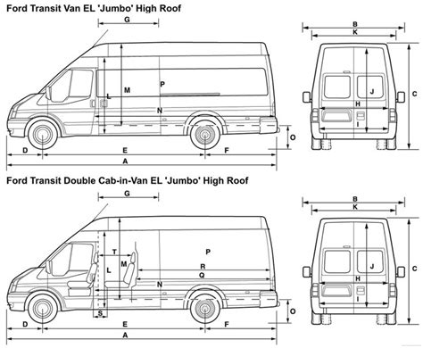 17 best ideas about ford transit on ford transit cer cer and - Ford Transit Dimensions