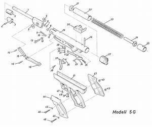 Product Schematics For Diana Rws 5g Magnum P5