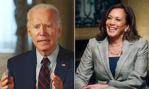 Biden and Harris publicly bury the hatchet as she calls ...
