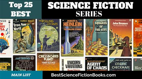 Best Science Fiction Books by Sci Fi Series New Leaf Maker For Free