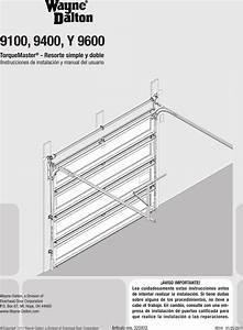 Wayne Dalton Y 9600 Users Manual