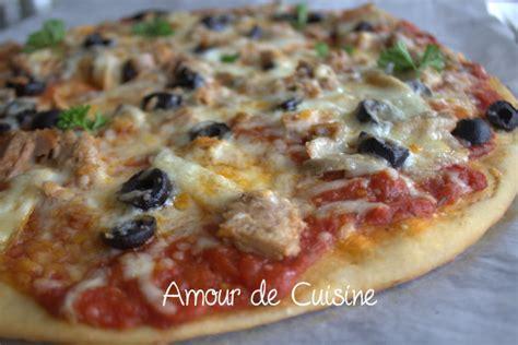 recette facile pizza margherita amour de cuisine