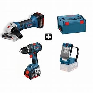 Gsr 18 V Li : kit 3 outils sans fil gsr 18 v li gws 18 125 v li gli ~ Dailycaller-alerts.com Idées de Décoration