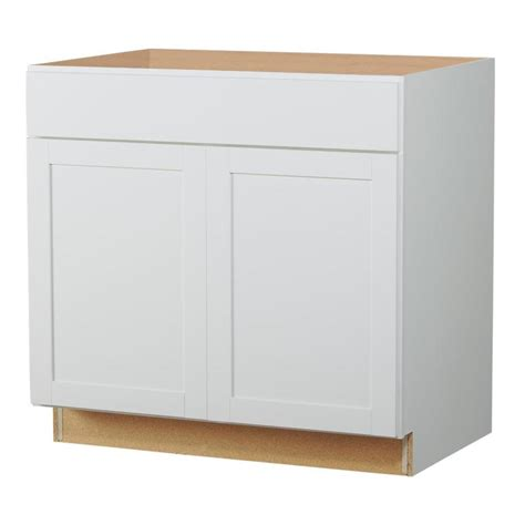 36 inch kitchen sink base cabinet shop now arcadia 36 in w x 35 in h x 23 75 in d