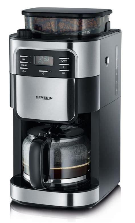 severin kaffeemaschine mit mahlwerk severin kaffeemaschine ka 4810