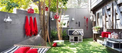 Brian Patrick Flynn transforms an outdoor area at his