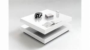 Hochglanz Couchtisch Weiß : couchtisch hugo quadratisch hochglanz wei lackiert ~ Orissabook.com Haus und Dekorationen