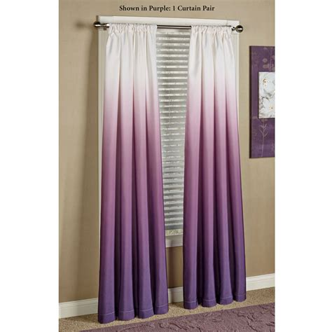 violet drapes shades ombre curtains