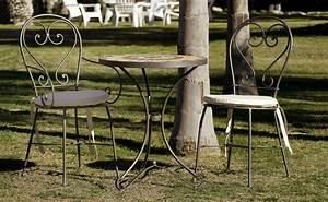 Table D Appoint Jardin : table d 39 appoint jardin en fer forg et zellige pierre naturelle 60x70 ~ Teatrodelosmanantiales.com Idées de Décoration