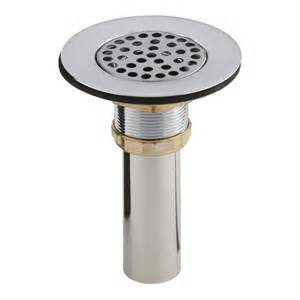 kohler 4 1 2 in sink strainer in chrome k 8807 cp the