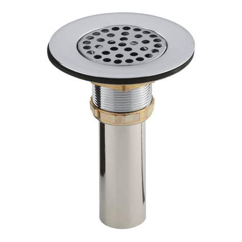 kohler sink strainer install kohler 4 1 2 in sink strainer in chrome k 8807 cp the