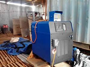 Igbt Low Frequency Induction Heating Machine 35kva For Post