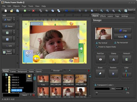 design photo photo frame studio shareware program