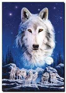 Wolves Canvas Art Print