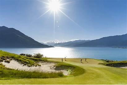 Zealand Golf Queenstown Tours Tourism Wonders Summer