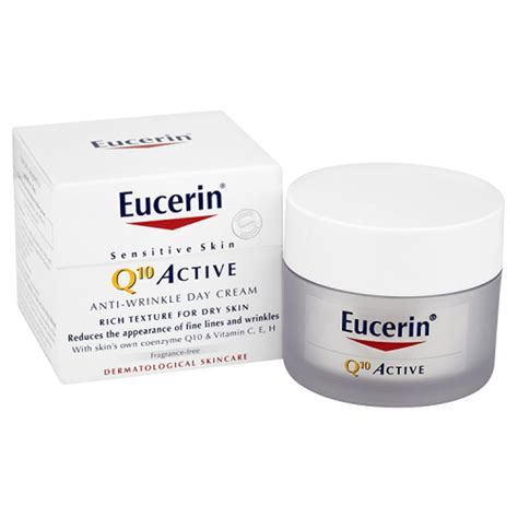 Eucerin® Sensitive Skin Q10 Active Anti-Wrinkle Day Cream