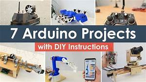 7 Arduino Projects With Diy Instructions