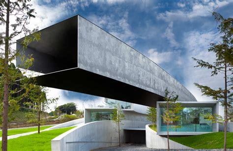 Japanische Architektur Moderne by Hoki Museum Nikken Sekkei Archdaily