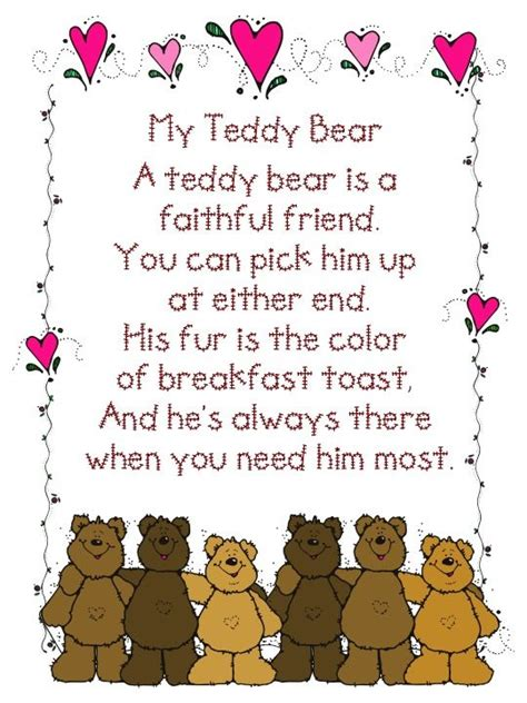 teddy bear songs preschool 278 best bears printable images on teddybear 336